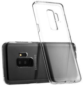 Samsung Galaxy S9 Case S9 Plus Case Silicone Rubber Clear TPU Cover Soft Bumper