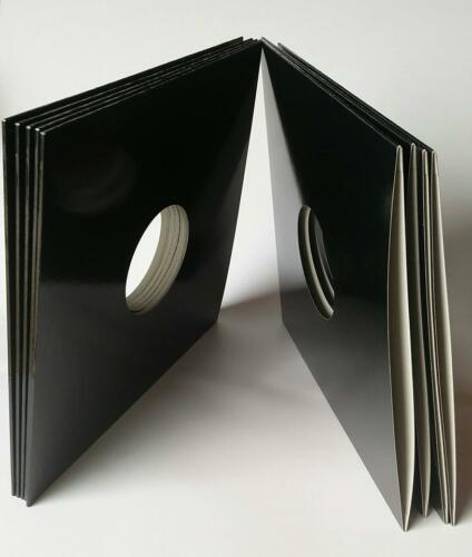 """CHECK 150 x 12/""""//LP/'s 3mm SPINED BLACK CARD SLEEVES FREE P/&P TO MOST POST CODES"""