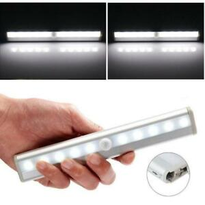 Image Is Loading 10 Led Light Bar Battery Operated Wireless Motion
