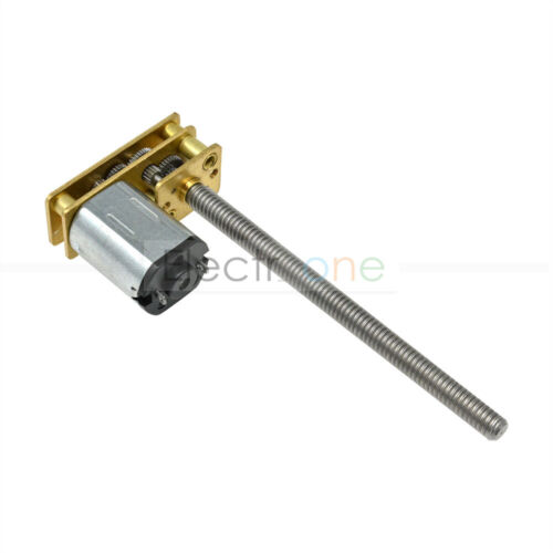 DC 3V 6V 12V 100RPM Micro Speed Reduction Gear Motor Torque Turbo Gearbox Shaft