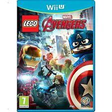 Lego Marvel Los Vengadores Para PAL Wii U (nuevo Y Sellado)