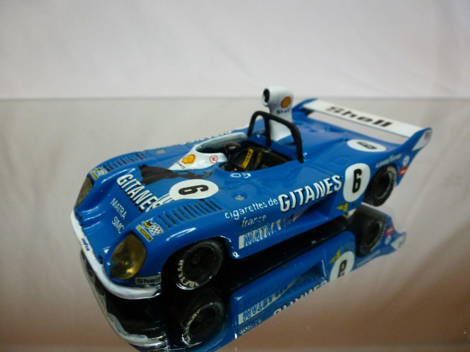 a la venta AUTODIN MATRA 680  MATRA SIMCA   KIT (built) (built) (built)  - azul 1 43 - NICE CONDITION  calidad auténtica