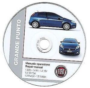 fiat grande punto manuale officina repair manual ebay rh ebay co uk manuale fiat punto street pdf manuale fiat punto 3 serie
