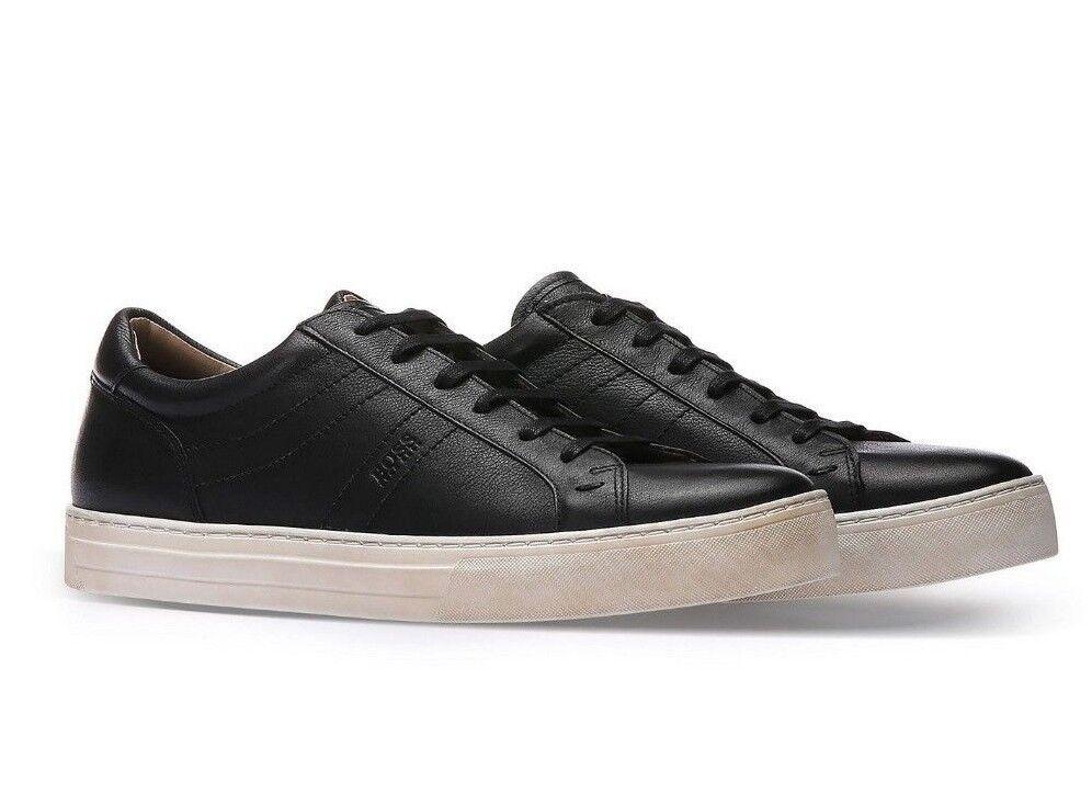 BOSS Calfskin Vintage scarpe da ginnastica   nero Tenn Itws Dimensione 8