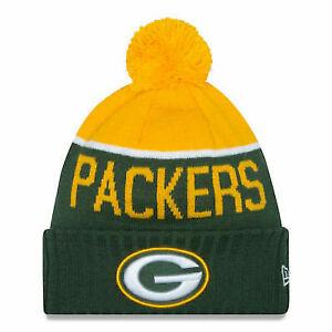 2a721d73 Green Bay Packers Era Cap 2015 NFL Sideline on Field Sport Knit Beanie Hat  OSFM - 889352986817