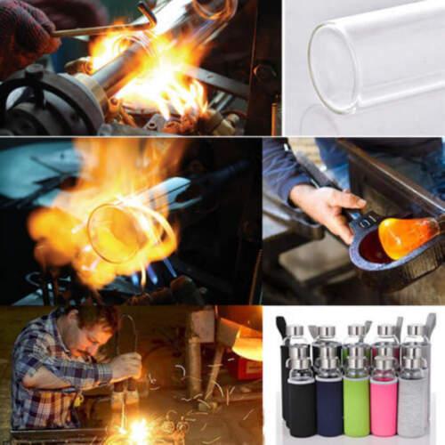 Sport Portable Verre Eau Jus Bouteille Potable couvercle tasse Clair Couleurs 600 ml