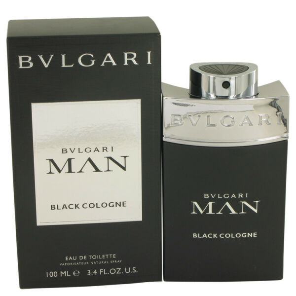 Bvlgari Man Black Cologne 3.4oz 100ml Eau De Toilette Spray Fragrance for  Men   eBay d0f3513526
