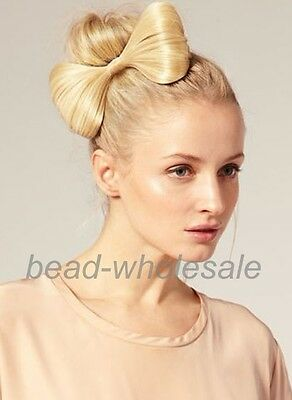 New Style Synthetic Hairpiece Bowknot Clip-In Hair Extensions Hair Pin
