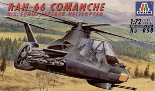 1:72 Italeri 0058 Boeing-Sikorsky RAH-66 Comanche