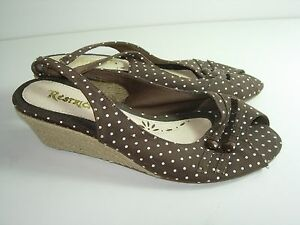 WOMENS-BROWN-OPEN-TOE-CAREER-COMFORT-SLINGBACK-PUMPS-HIGH-HEELS-SHOES-SIZE-7-M