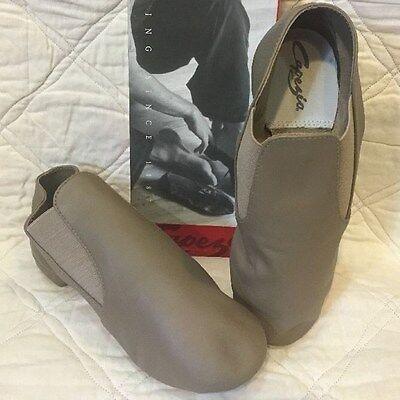 Capezio-CG05-Split Sole Gore Boot-Tan
