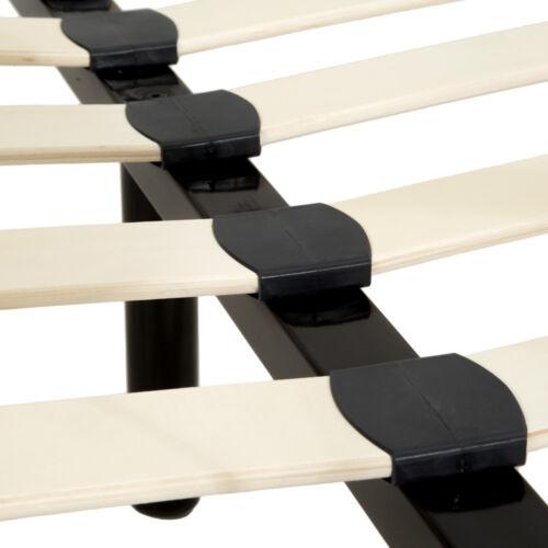 sommier à lattes 180x200 cm schlafzimmerbett Structure de lit existante Métal Lit Double Lit