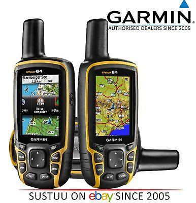 Garmin GPSMAP 64│Outdoor Handheld GPS-GLONASS│Walking-Hiking│*Worldwide Edition
