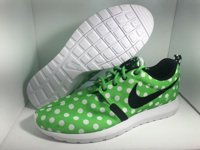 info for 50501 16be1 Brand New Nike Roshe NM QS Green Strike Black White Size10.5 810857