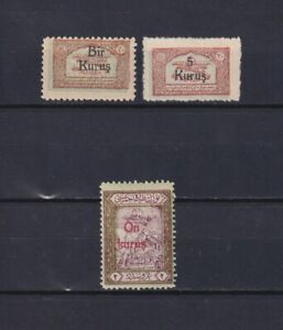 TURKEY-1930-Sc-RAC16-RAC20-part-of-set-MH-No-gum
