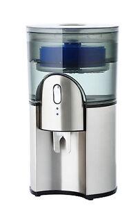 AQUAPORT Desktop Filtered Water Cooler - Stainless Steel