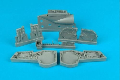 AIRES HOBBY 1//48 BAC EE LIGHTNING F MK 2//6 WHEEL BAYS FOR ARX D 4319