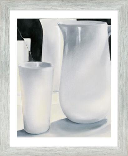 Bilderrahmen Pisa Multifit 40x54 cm Posterrahmen weißer Hintergrund 54x40 cm