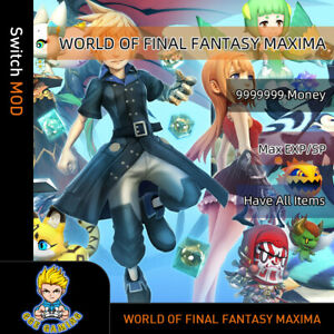 World-of-Final-Fantasy-Maxima-Switch-Mod-Max-Money-EXP-SP-Have-All-Items