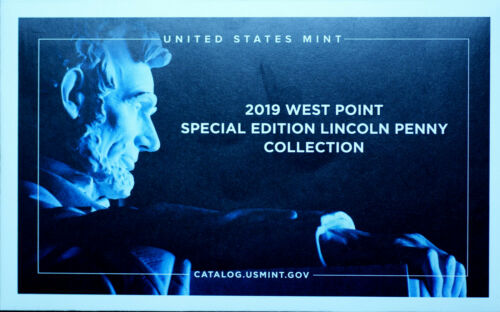 2019 W Lincoln Shield Mint Proof ~ US Mint West Point Proof Coin in Plastic Bag
