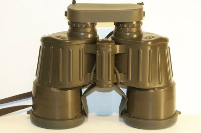 ZEISS  WEST  (HENSOLDT)  fero d 19  10 x 50      GERMAN MILITARY   binoculars