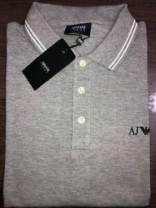 Armani-Jeans-Men-039-s-Short-Sleeve-Polo-Shirt-AJ-Polo