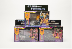 TRANSFORMERS G1 Reissue Headmaster Weirdwolf//Skullcruncher//Mindwipe Brand New