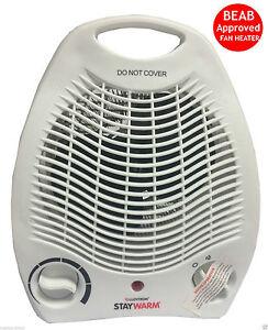 Lloytron 2000w Upright & Flat Fan Heater