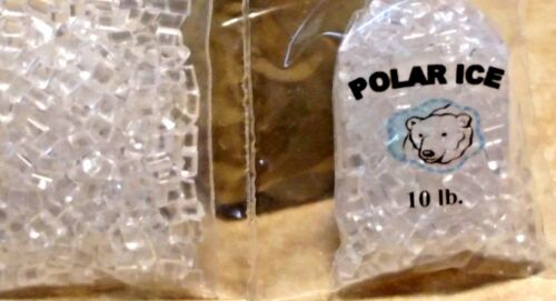 Miniature Polar Ice bag #1  with extra faux Ice 1:12 scale