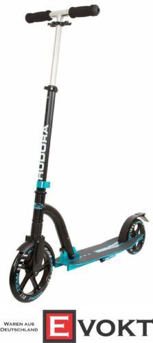 14243 Hudora Scooter Big Wheel Bold Cushion turquoise black Scooter No