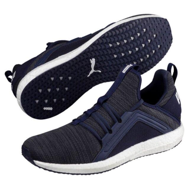 f09c6e1fab8 PUMA Men s Mega NRGY Knit Sneaker - Peacoat irongate Sz 10 for sale ...