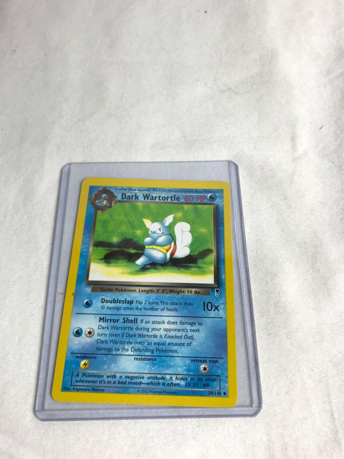 Dark Wartortle 39 110 110 110 - Legendary Collection 9 MINT Pokémon Card e03a6b