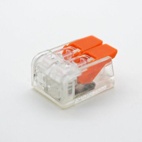 10//20X Verbindungsklemme PCT-412 PCT-413 PCT-415 Hebel Klemmen Dosenklemme Kabel