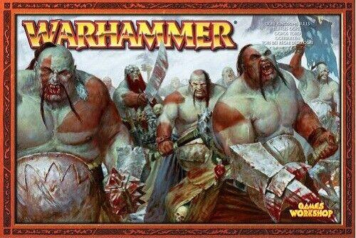 WARHAMMER OGRE reDOMS Bulls    giocos lavoronegozio 2003 Release SCATOLA SIGILLATA  grandi risparmi