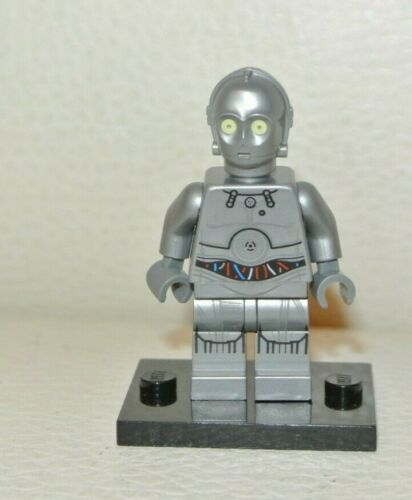 Lego Silver Protocol Droid U-3PO 75146 Star Wars Minifigure