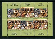 Bosnia & Herzegovina 249, MNH, Serb Admin Europa CEPT Gastronomy 2005  x22773