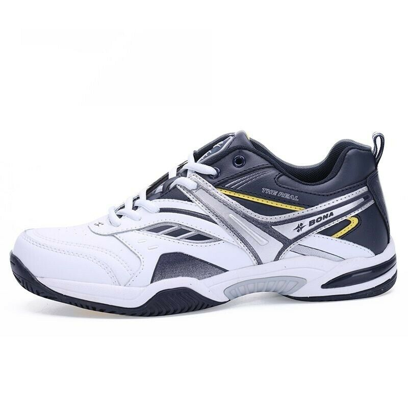 e736ab64e8f4 Men Sport shoes Leather Cottons Tennis Lace Up Comfortable Sneakers  Breathable