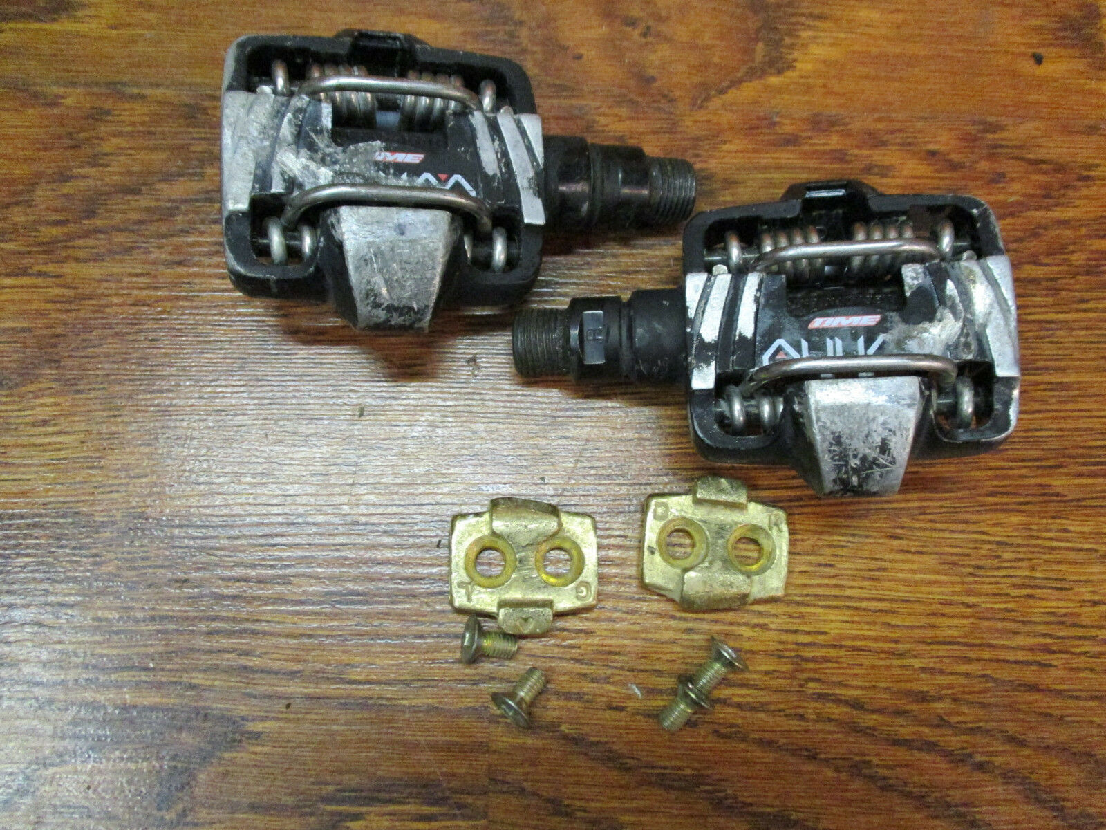 VINTAGE TIME ATAC  ALIUM CLIPLESS PEDALS WITH CLEATS  best sale