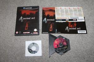 Nintendo-Gamecube-Resident-Evil-4-Bonus-Disc-completa-En-muy-buena-condicion