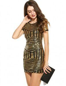 Caricamento dell immagine in corso vestito-mini-abito-tubino-donna- paillettes-elegante-moda- d6bce2f5d07
