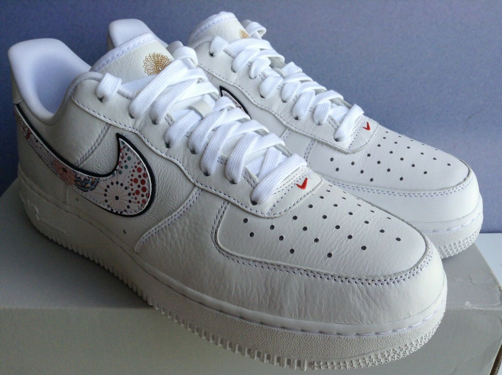 Nike air qs force 1 '07 lny qs air white-habanero rosso mns.sz.14 (ao9381-100) 78d4f5