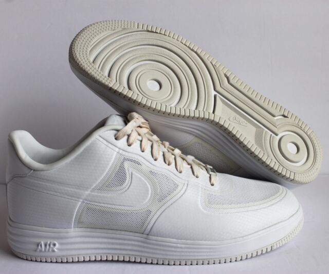 buy popular ff292 40a24 NIKE LUNAR FORCE 1 FUSE NRG QS WHITE WHITE SZ 14  573980-100