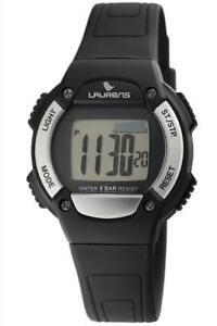 Orologio-LAURENS-L088J900Y-Cardiofrequenzimetro-Digitale-Silicone-Nero-Chrono