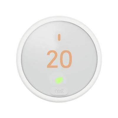 Nest Thermostat E Wi-Fi Smart Thermostat - White (T4000EF)