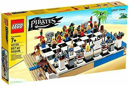 Lego Pirates Chess Set 40158  New Collectible Retired Set FREE US SHIPPING