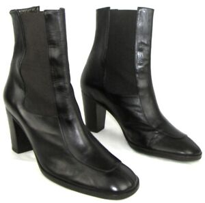 STEPHANE-KELIAN-Boots-Heels-8-CM-Brown-Leather-Chocolate-7-38-Mint