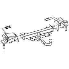 Fixed Swan Neck Towbar for Hyundai iX35 SUV 2-4WD 2010 on Tow Bar 19111//HF/_A1