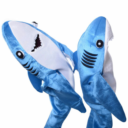 1pc Kids Cosplay Costume Shark Stage Fancy Dress Jumpsuit Halloween Christmas