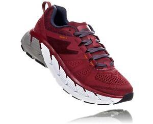 HOKA-ONE-ONE-GAVIOTA-2-Men-039-s-Scarpe-Uomo-Running-RIO-RED-1099629-RRDS