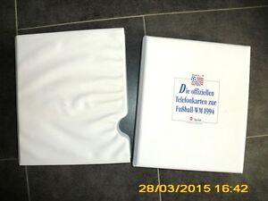 Telefonkartensammlung-Fussball-WM-1994-26-Karten-top-limitierte-Sammlung